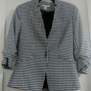 Houndstooth H&M blazer